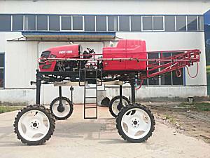 山东歌尔特3WPZ-1000型自走式高秆喷杆喷雾机