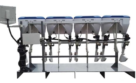 龙舟2FH-8水稻插秧同步精量施肥机