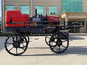 青州炜锋3WPZ-1000A自走式喷杆喷雾机