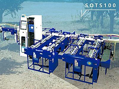 斯维垦SOTS100托盘式水果分选机
