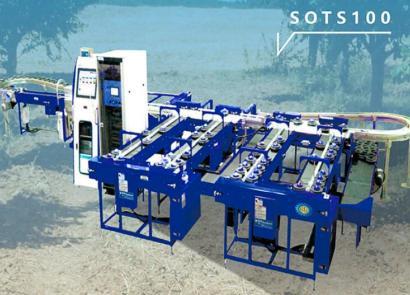 斯維墾SOTS100托盤式水果分選機