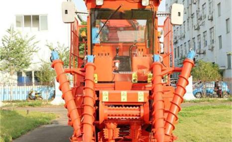 廣西福域4GQ-130A切段式甘蔗聯合收割機