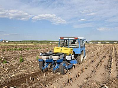 通联机械2BMZF-2指夹式免耕播种机