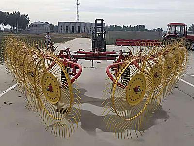 河北耿軍9LZ-6.5指輪式摟草機