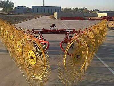河北耿軍9LZ-7.5指輪式摟草機