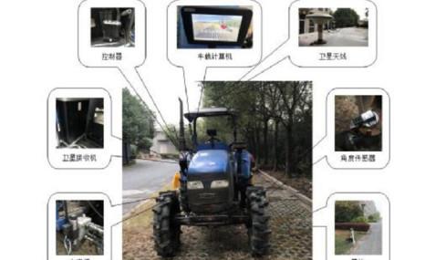 浙江联辉LFC800BD-2.5RY北斗农机自动导航驾驶系统