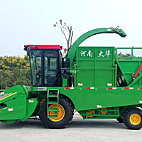 大华4YZB-4A玉米收获机