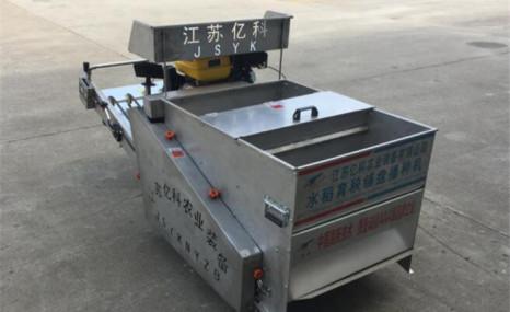江苏亿科2BPD-800水稻育秧铺盘播种机