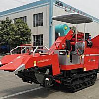 巨明4YZLP-2A玉米收獲機
