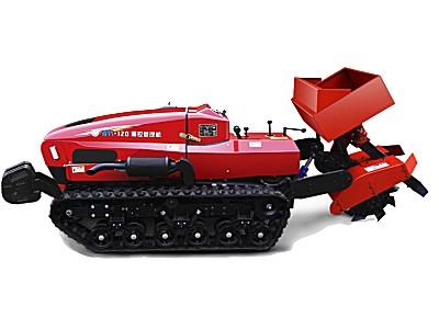 菱代遥控履带果园管理施肥机