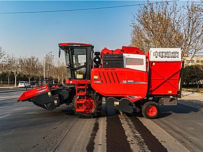 2021款中聯收獲4YZ-4W自走式玉米聯合收割機