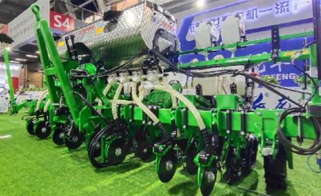 龍豐2BMQ-8免耕播種機