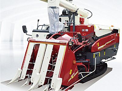 沃得4LB-200履带自走式半喂入联合收割机