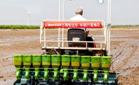 上海世达尔2BDXZ-12SCA(20)自走式水稻穴直播机