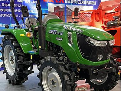 废铁TB604轮式拖拉机
