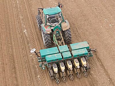 雷沃2BMQE-5A氣吸式免耕播種機