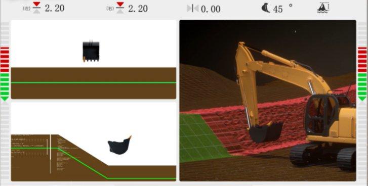 引导系统可视化展示