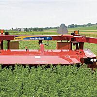 紐荷蘭488割草壓扁機