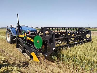 農墾紅星4SX-3.2稻麥割曬機