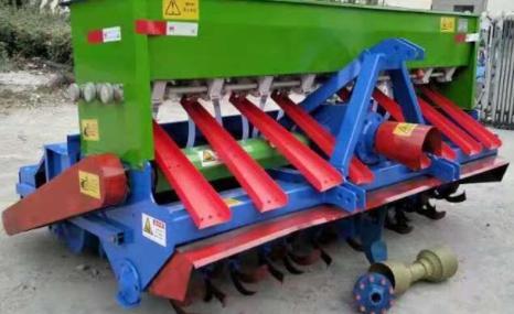 農豐2BFG-14旋耕施肥播種機