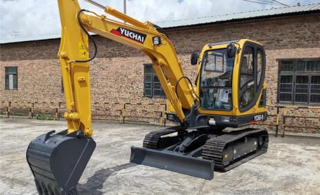 玉柴重工YC60-9农用挖掘机