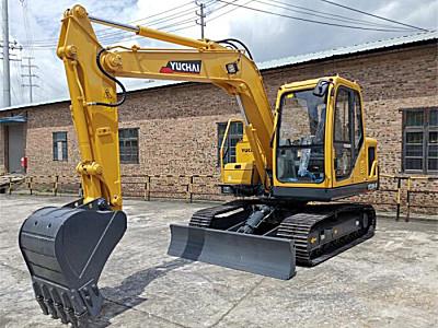玉柴重工YC80-9農用挖掘機
