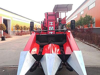吉林牛鼠牛4YZ-2B自走式玉米收獲機