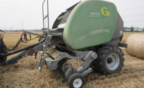 綠蔭9YG-1.25型圓草捆打捆機