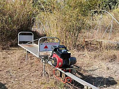 弘科7ZDGS-350自走式單軌山地果園運輸機
