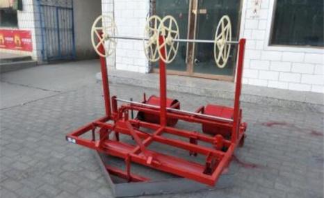 东辉2MD-140多功能旱地集水滴灌带铺膜机