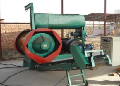 河北農樂9YH-1500壓塊成套設備