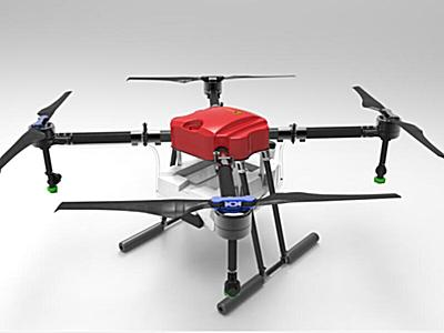神州明達BQX-4A10四旋翼植保無人機