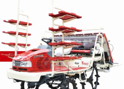 沃得驍龍2ZGF-6B高速乘坐式插秧機