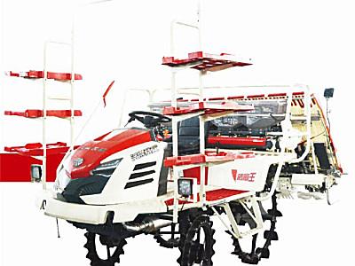 沃得骁龙2ZGF-6E高速乘坐式插秧机