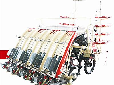 沃得骁龙2ZGF-8G高速乘坐式宽窄行插秧机