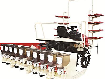 沃得骁龙2BD-10自走式水稻直播机