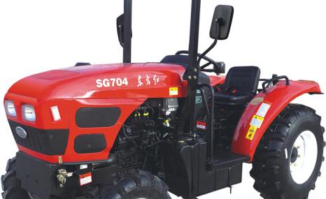 东方红SG704果园型轮式拖拉机