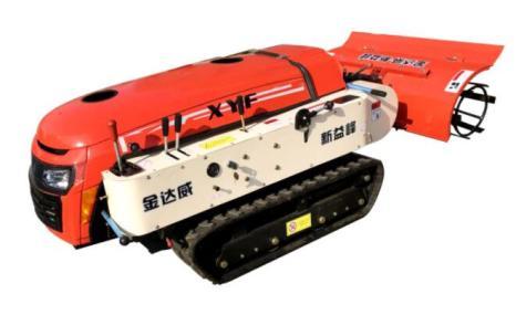 金達威2F-30履帶自走式多功能果園管理機(除草功能)
