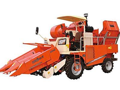金達威4YZP-2H自走式玉米收獲機