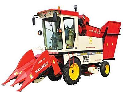 金達威4YZP-2D自走式玉米收獲機
