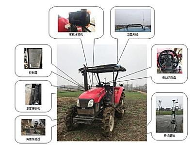 安徽超跑CPBD-2.5RD電機式北斗農機自動駕駛儀