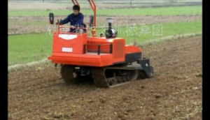 湖南農友1GZ-180履帶式旋耕機