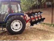 雷沃1004拖拉機四鏵翻轉犁作業視頻