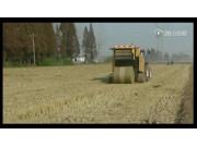 沃得WDB800型打捆机水稻秸秆现场打捆视频