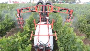 馬斯奇奧AIRDROP果園噴藥機作業視頻