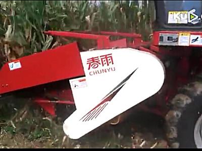 金亿机械春雨4YZP-3X玉米收获机作业视频