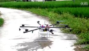 誼航航空YH6X-10植保無人機作業視頻