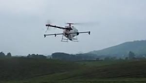 天鷹植保無人機在貴州湄潭萬畝茶園葉面肥噴施作業視頻