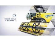 紐荷蘭最新CR系列收割機技術亮點作業視頻