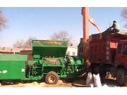 濰坊大眾5TY-200C玉米脫粒機包頭作業視頻